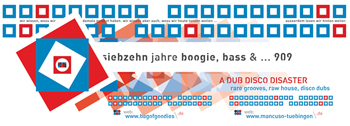 Flyer: 17 Jahre bag of goodies (vorne)