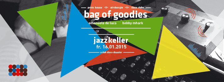 bag of goodies Flyer - 16.01.2015 - Jazzkeller Tübingen
